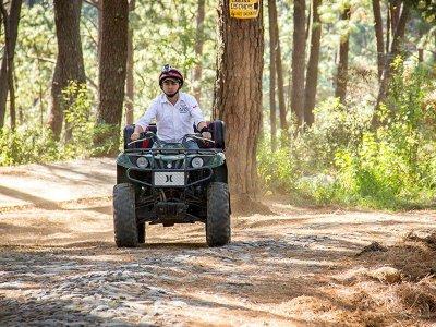 Aventura en cuatrimoto 350 cc en Mazamitla 2 horas