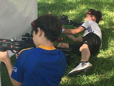 Láser Tag para evento con 8 pistolas en Monterrey