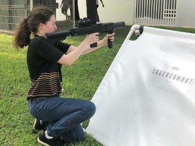 Evento con Láser Tag con 12 pistolas en Monterrey