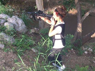 Láser tag para evento con 16 pistolas en Monterrey