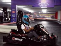 Come drive your go kart on our indoor track