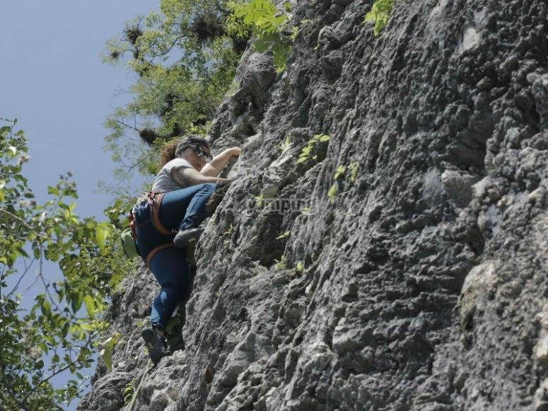 Rocas naturales ideales para escalar
