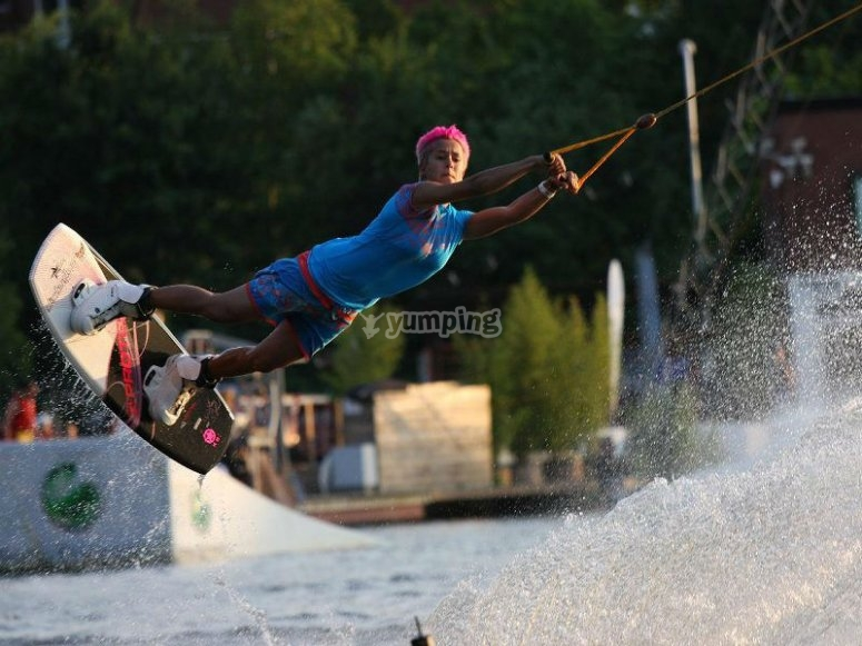 Total adventure with your wakeboard