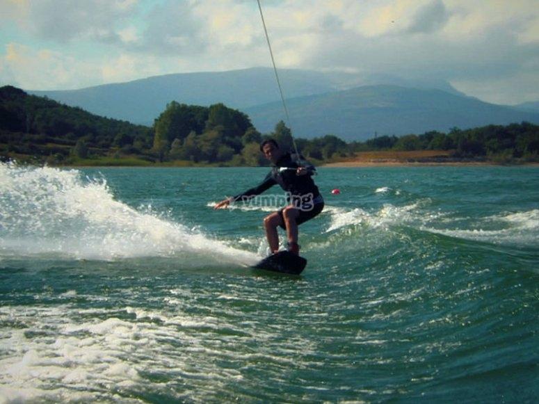 Enjoy the magic of wakeboarding