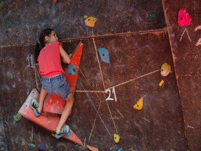 Classy kids climbing room in Tuxtla