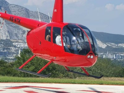Route Rayada by helicopter through Monterrey 15 min