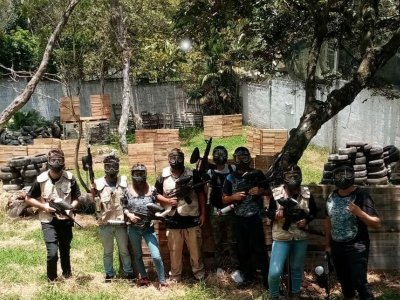Gotcha adventure with 500 bullets in Xalapa