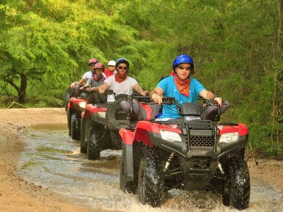 One-seater ATV route through Sierra Malinalco 1hr