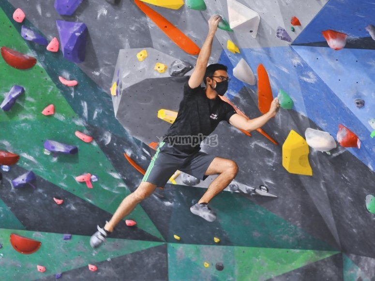 Training on the wall