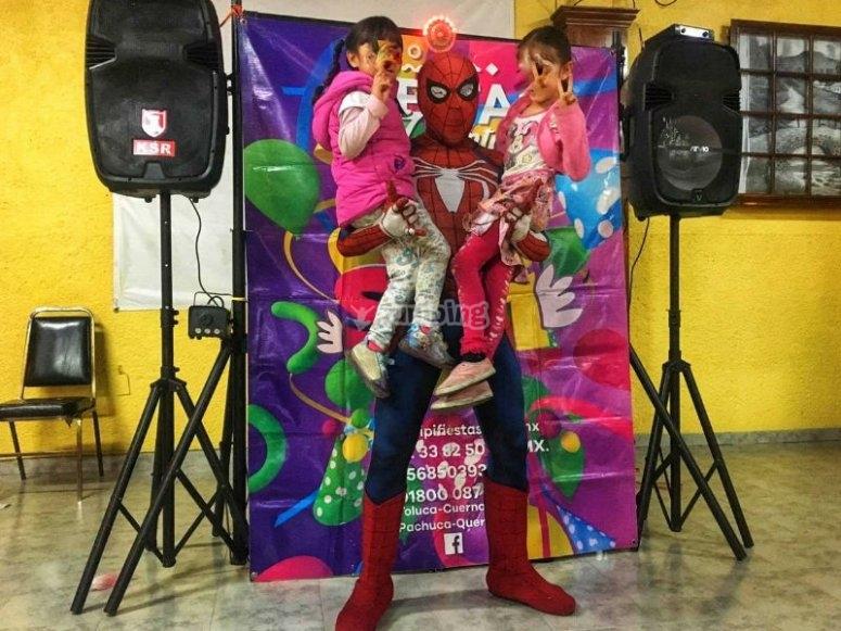Superhéroe en tu fiesta