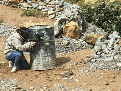 Gotcha con 1000 balas en Mina San Bernabé