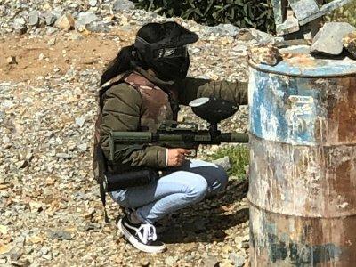 Partida de gotcha 2000 balas en Mina San Bernabé