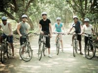 Group of cyclists in Careva