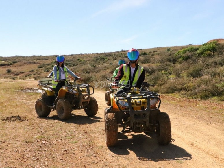 Quad bike route through the Zacatecan state