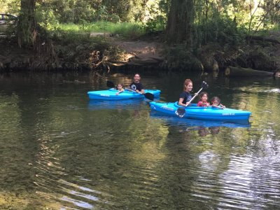 Guided kayak and quad bike tour in Santiago 2h