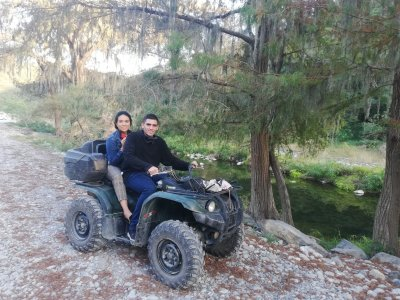 ATV tour and horseback riding in Santiago 1 day