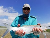 Fishing day in Ascension Bay with lunch
