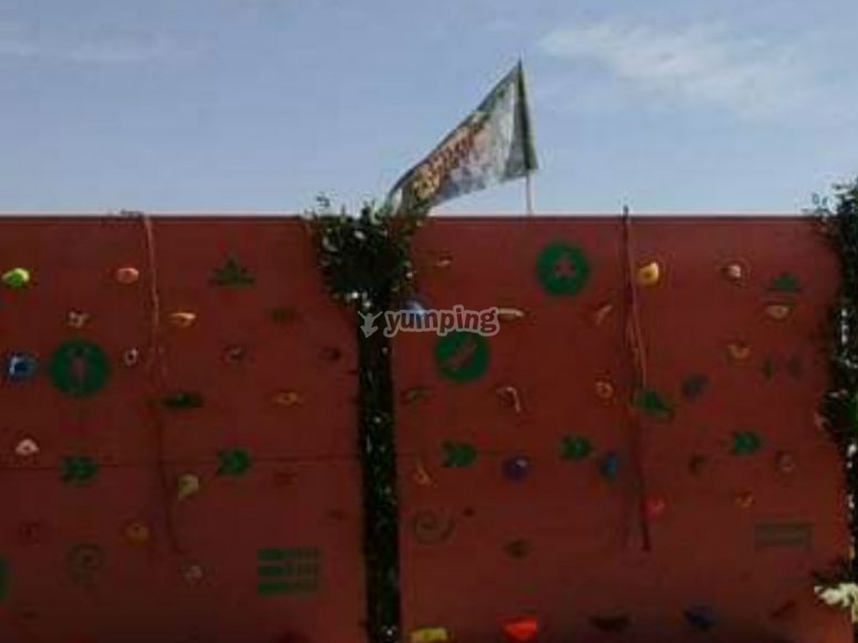Our climbing walls