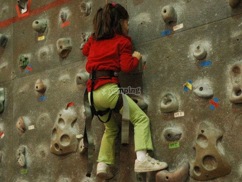 Climbing wall for all ages