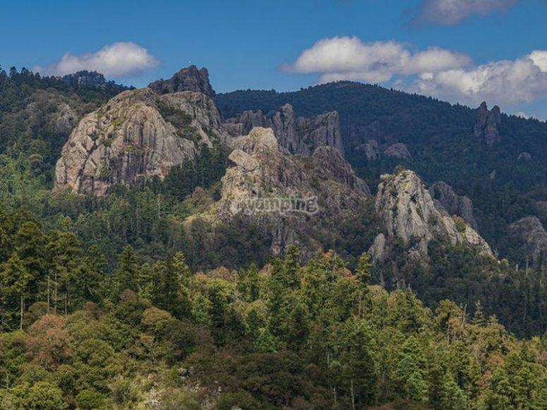 Formaciones rocosas de Mineral del Chico