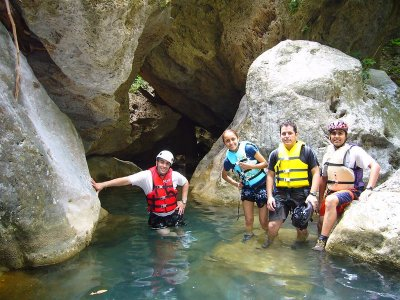 Canyoning adventure in Mineral del Chico 3-5 hours
