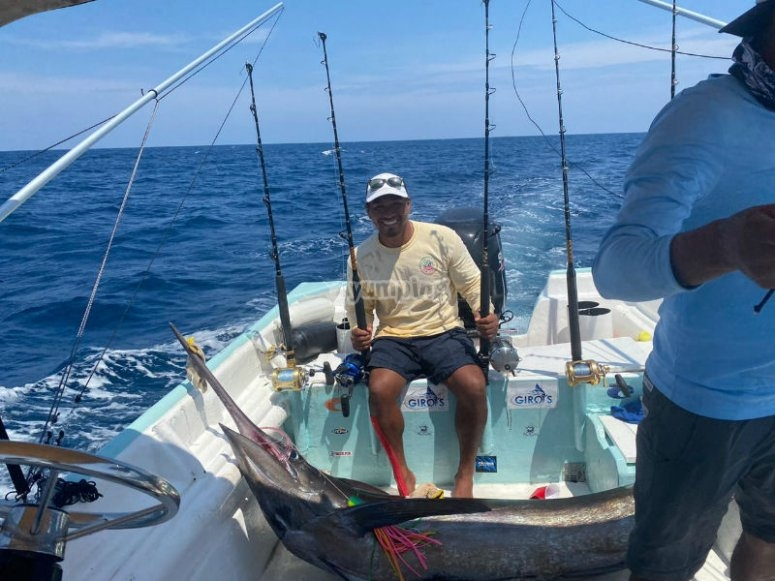 Fishing day in Acapulco