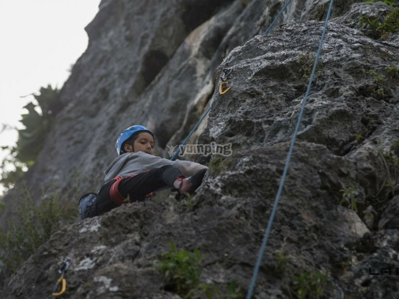 Climbing for children and adults