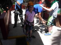 Children also have fun on our zip lines