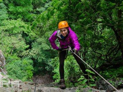 Hike and Rappel in El Jaguar Canyon 6 hrs