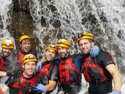 Canyoning in Monte Perla Waterfall 5 hours
