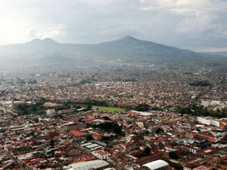 Cerro del Quinceo en Morelia