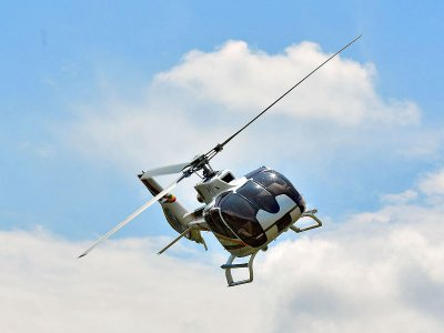 Private helicopter flight from Morelia 30min