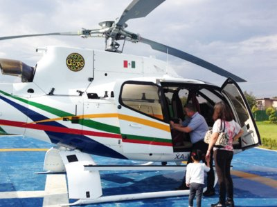 Private helicopter flight in Morelia 20 min