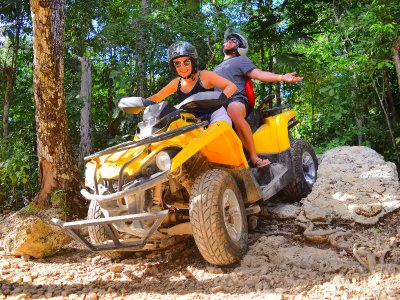 ATV, zipline and snorkeling in Riviera Maya