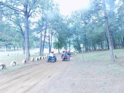 Two-seater ATV tour Mazamitla mountain 30 min