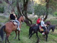 Guided horseback ride in Cholula 3.5 hours
