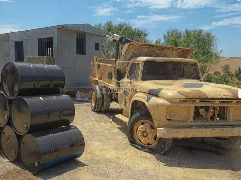 Guantanamo camp in Cuba