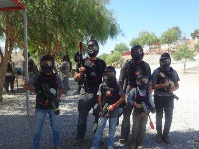 Gotcha game 100 bullets in Tijuana