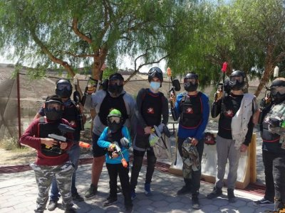 Gotcha game 500 bullets and VIP marker in Tijuana