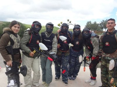 Gotcha 500 bullets and VIP marker in Parque Morelos