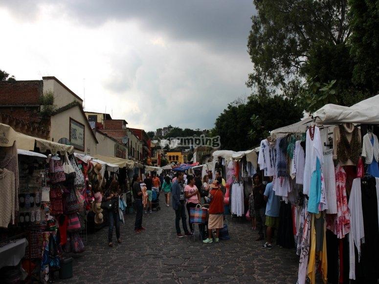 Mercados en el centro