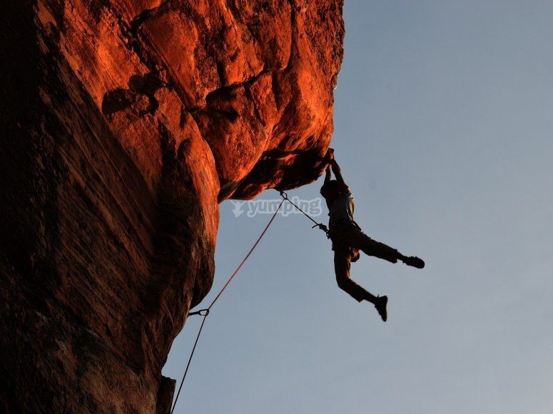 Advanced climber