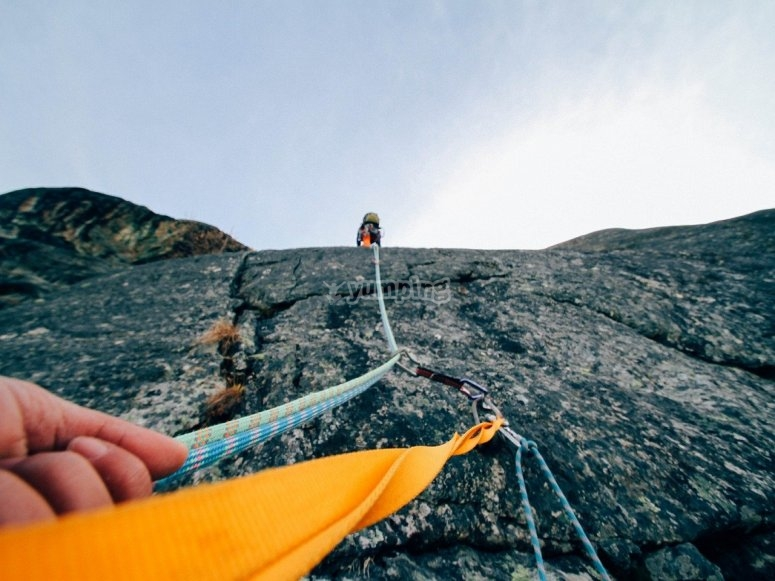 Ropes for rappel