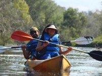 Kayak route to El Humedal 5 hours