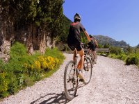Guided bicycle routes