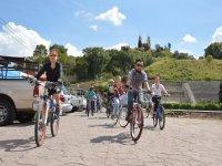 Corn Route by bike in Cholula 5 hours
