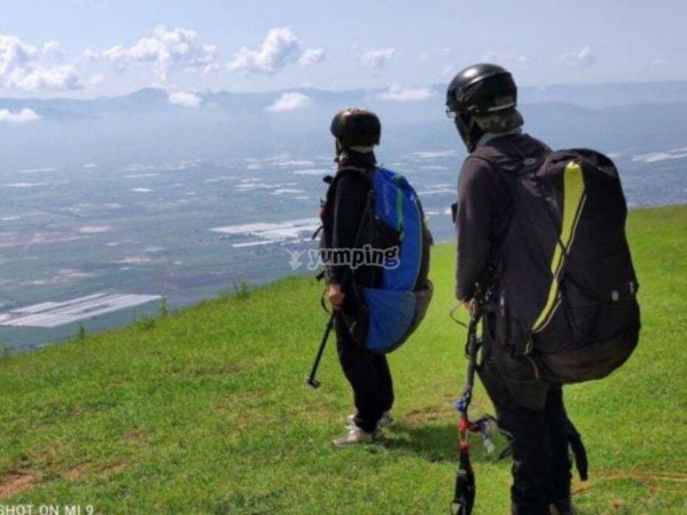 Aventura de parapente en Tapalpa