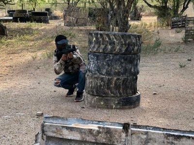 Gotcha 100 bullets and military uniform in Hermosillo