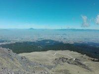 Las vistas del volcán