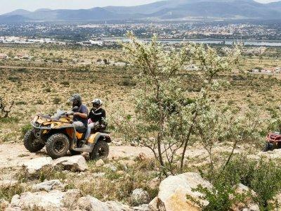 ATV through semi-desert and food Tequisquiapan